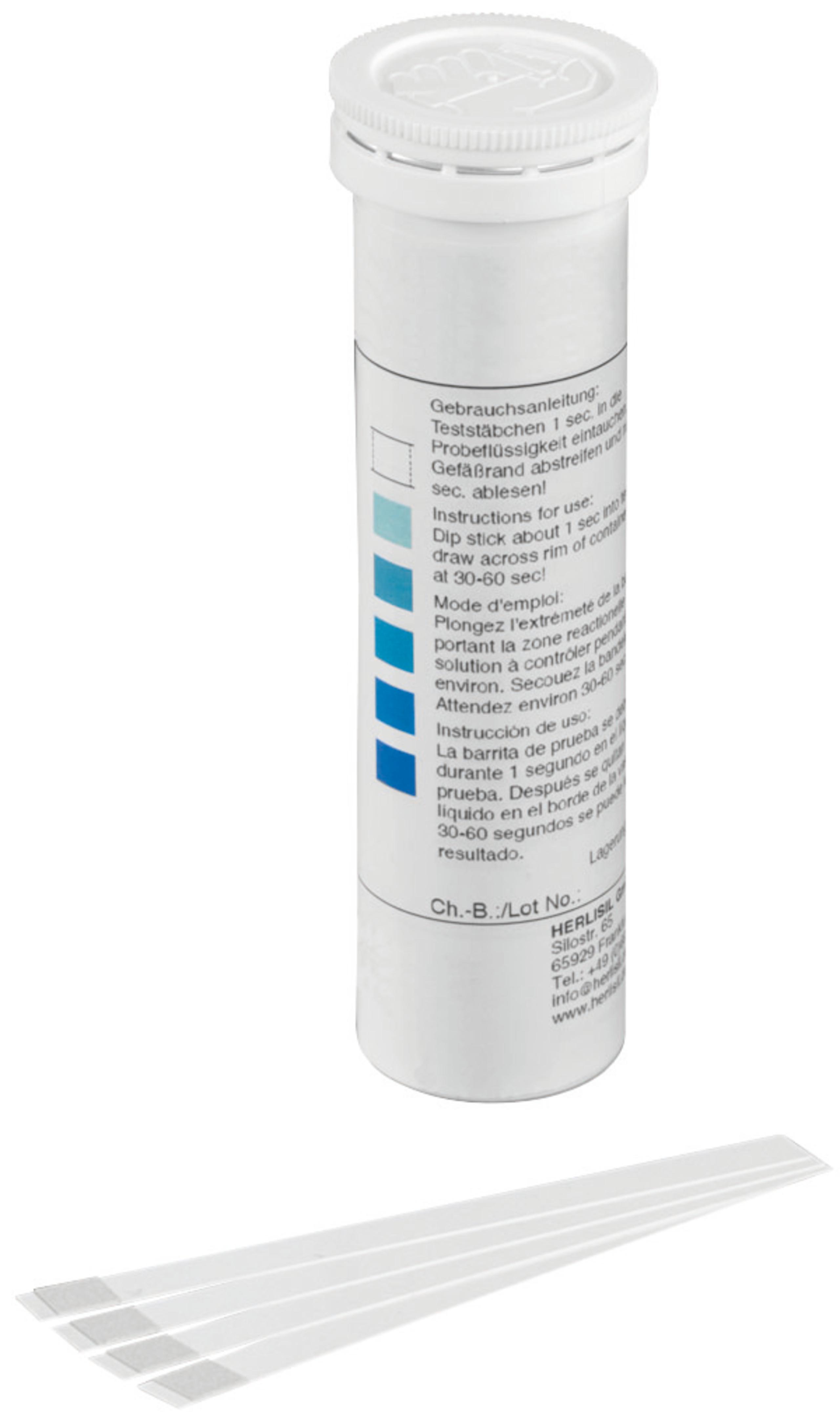 <br/>Test H2O2 0-50 mg/l, 100er-P