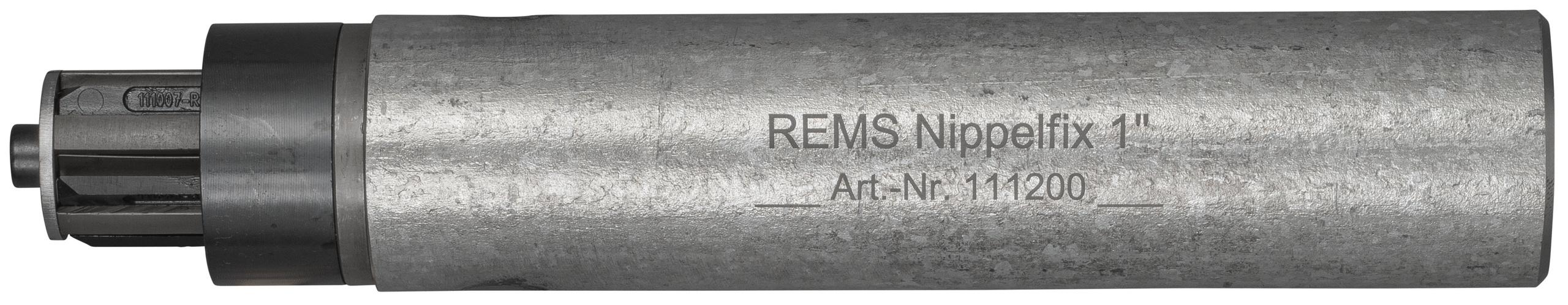 <br/>REMS Nippelfix 1''