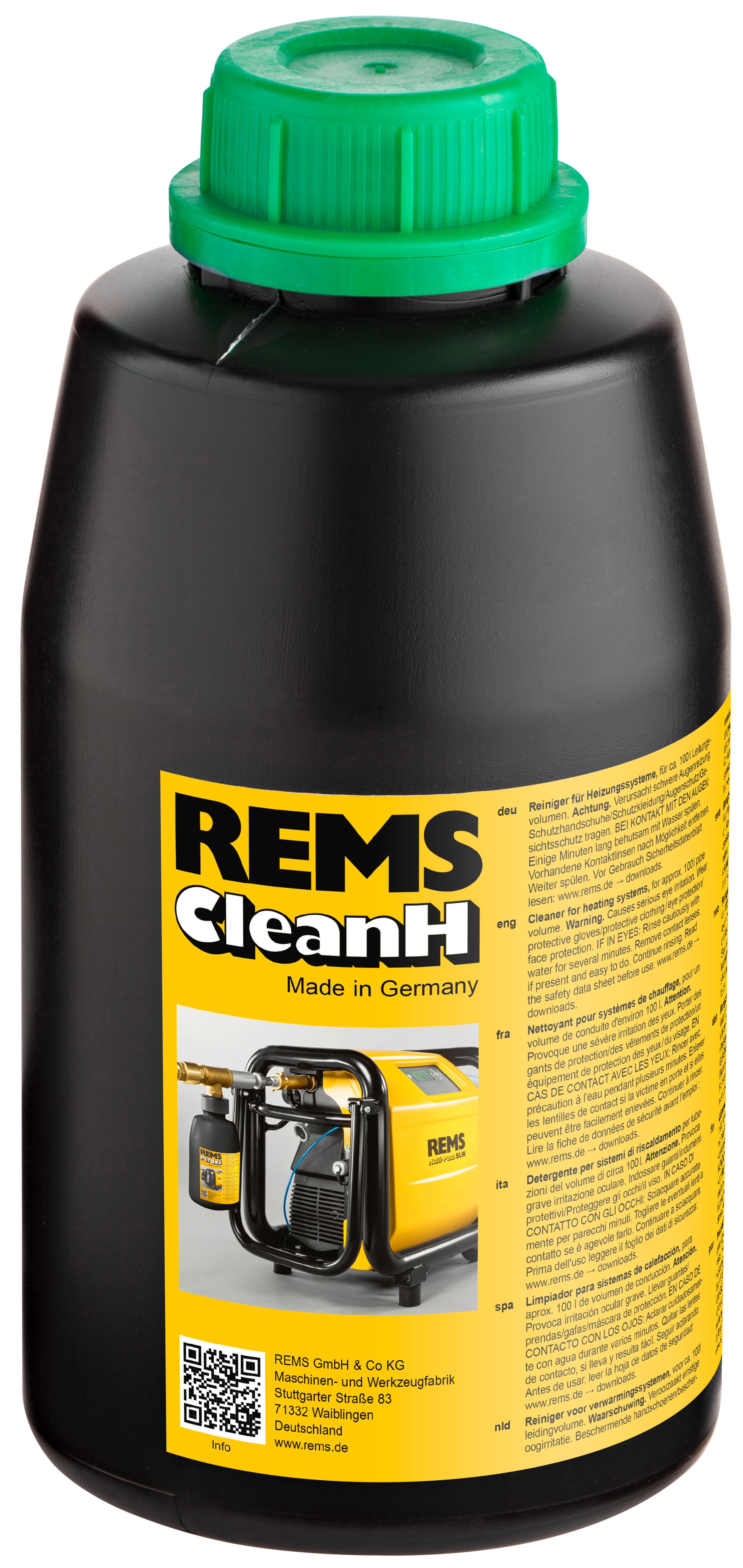 <br/>REMS CleanH
