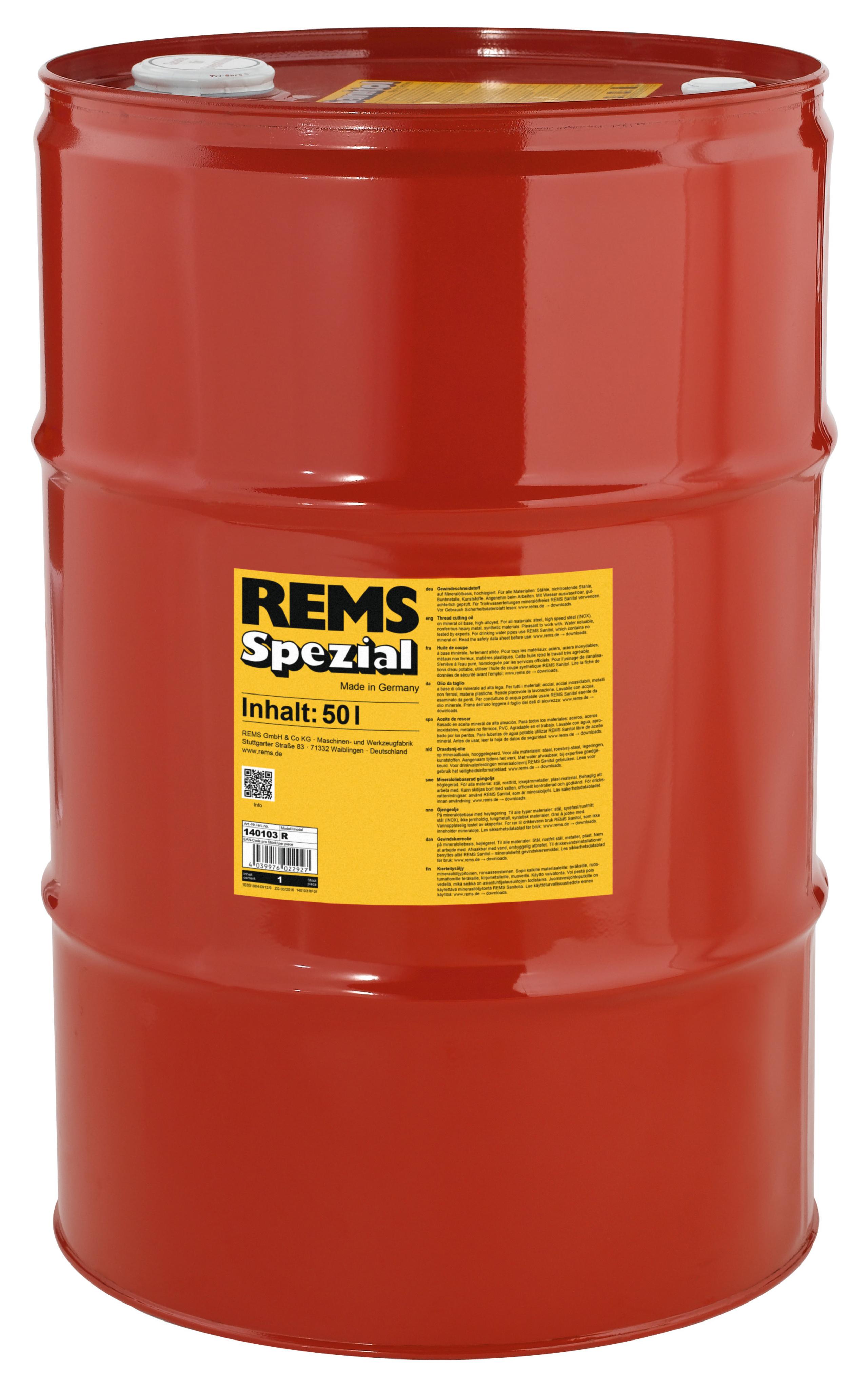<br/>REMS Spezial