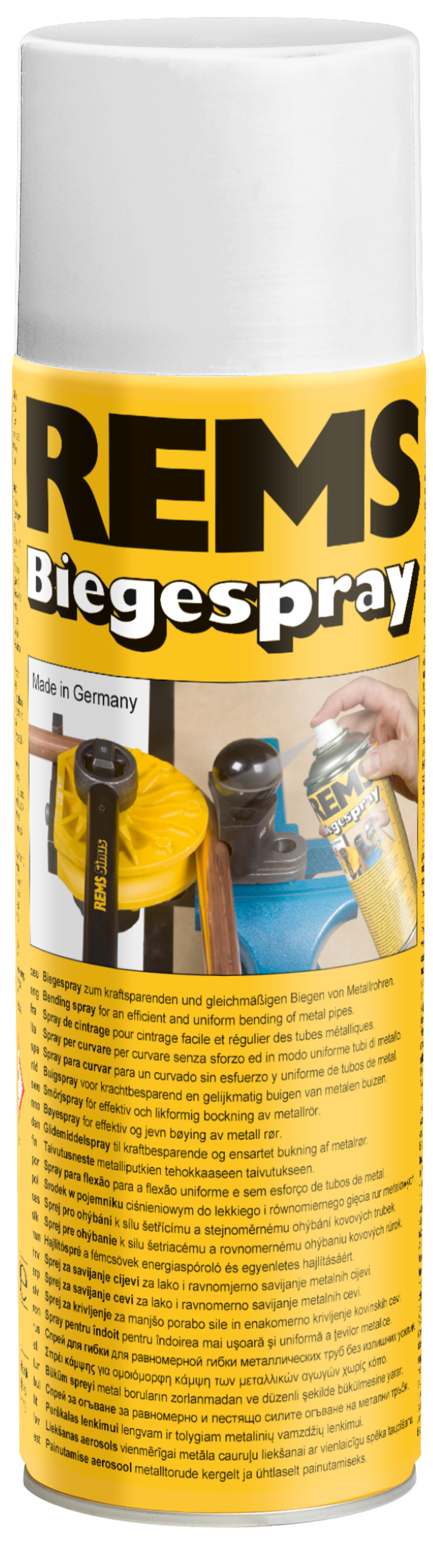 <br/>REMS Bending Spray