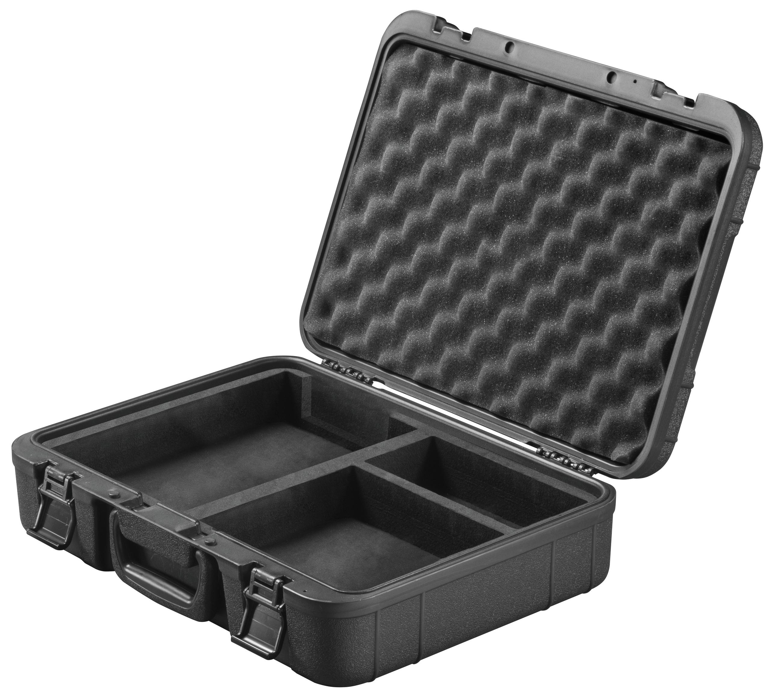 <br/>Koffer mit Einlage