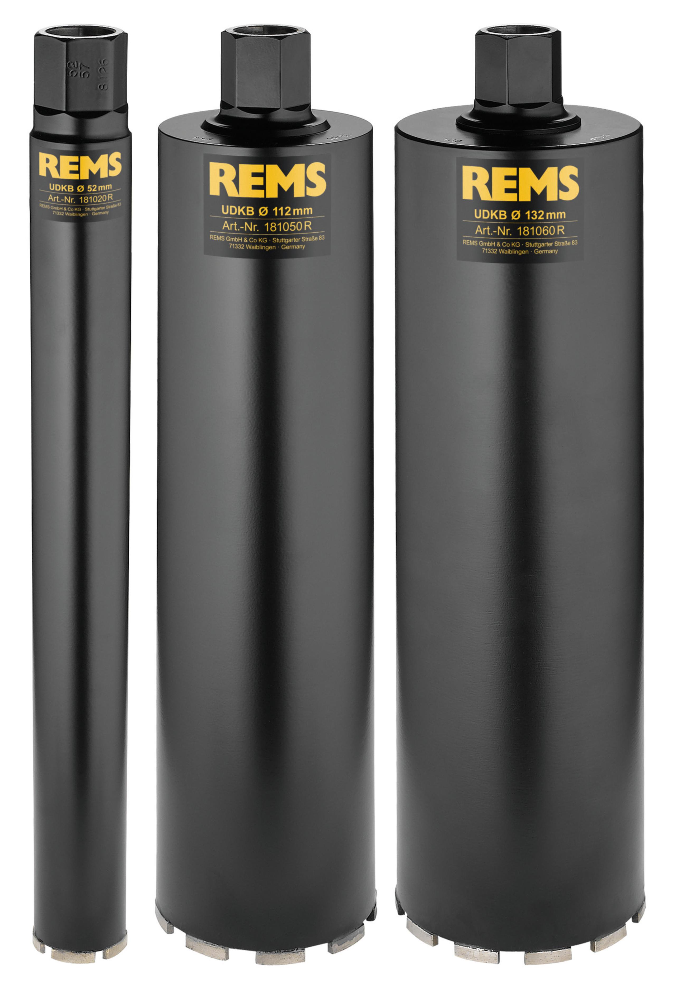 <br/>REMS UDKB Set 52-112-132