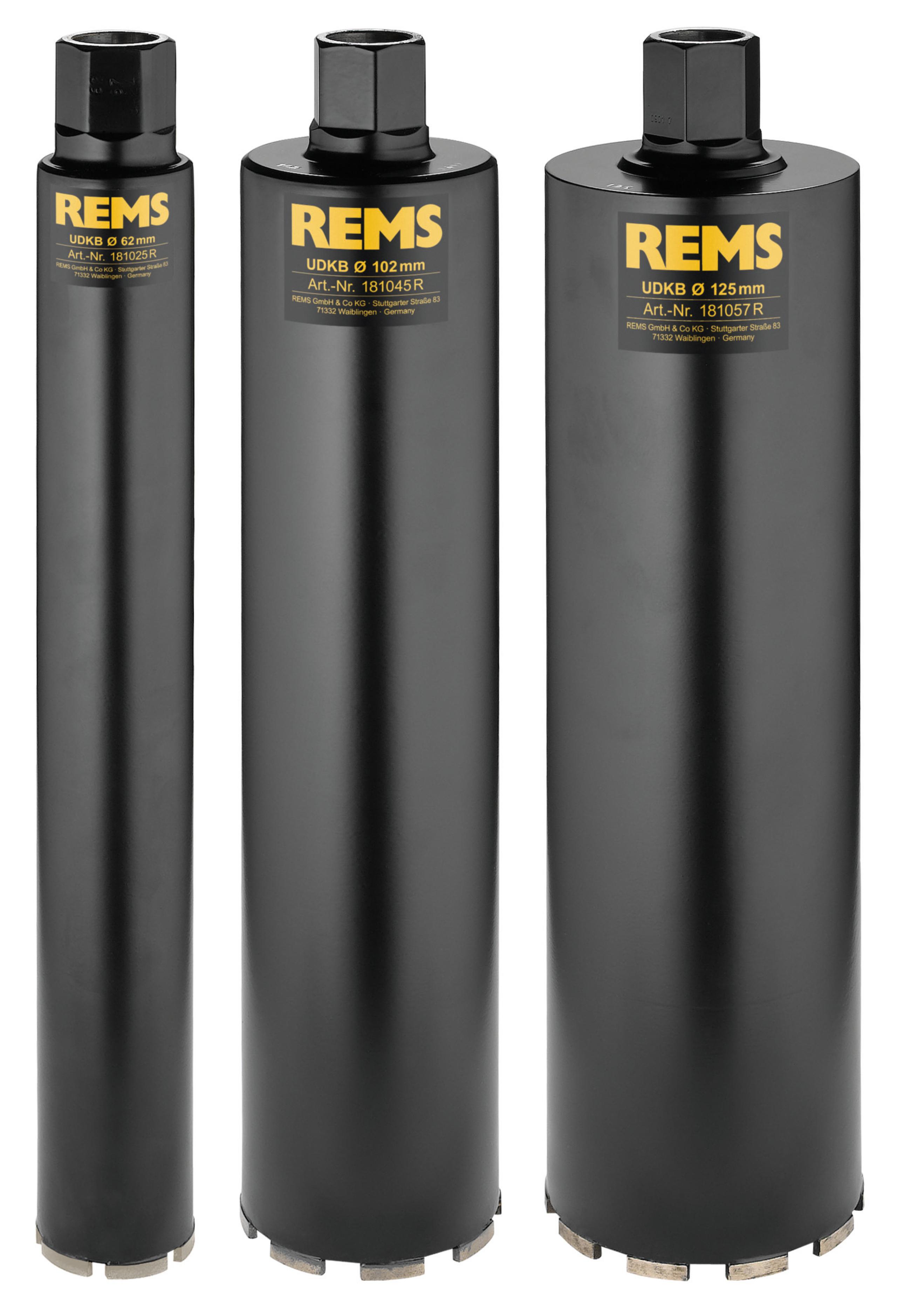 <br/>REMS UDKB Set 62-102-125