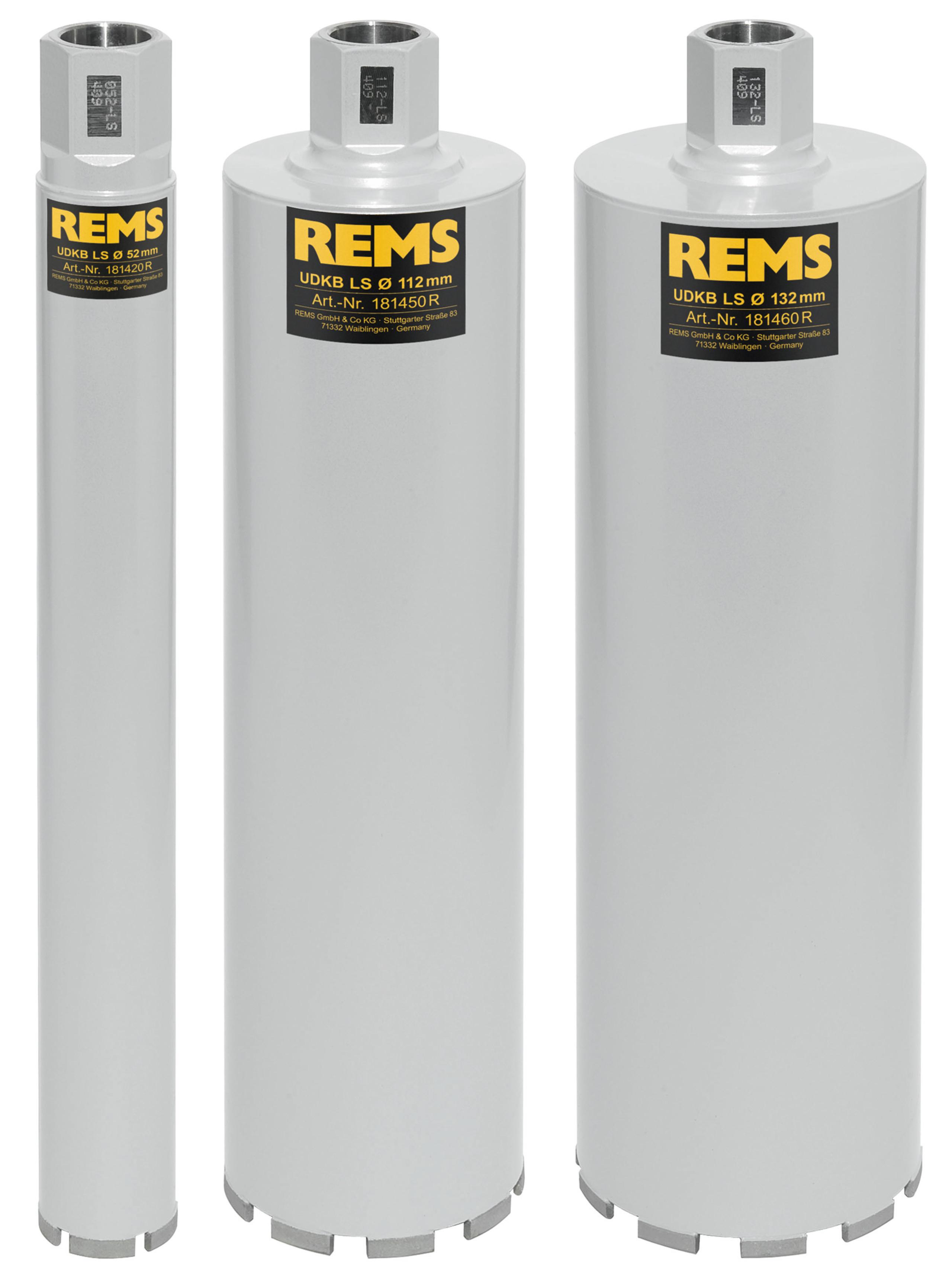 <br/>REMS UDKB-LS Set 52-112-132