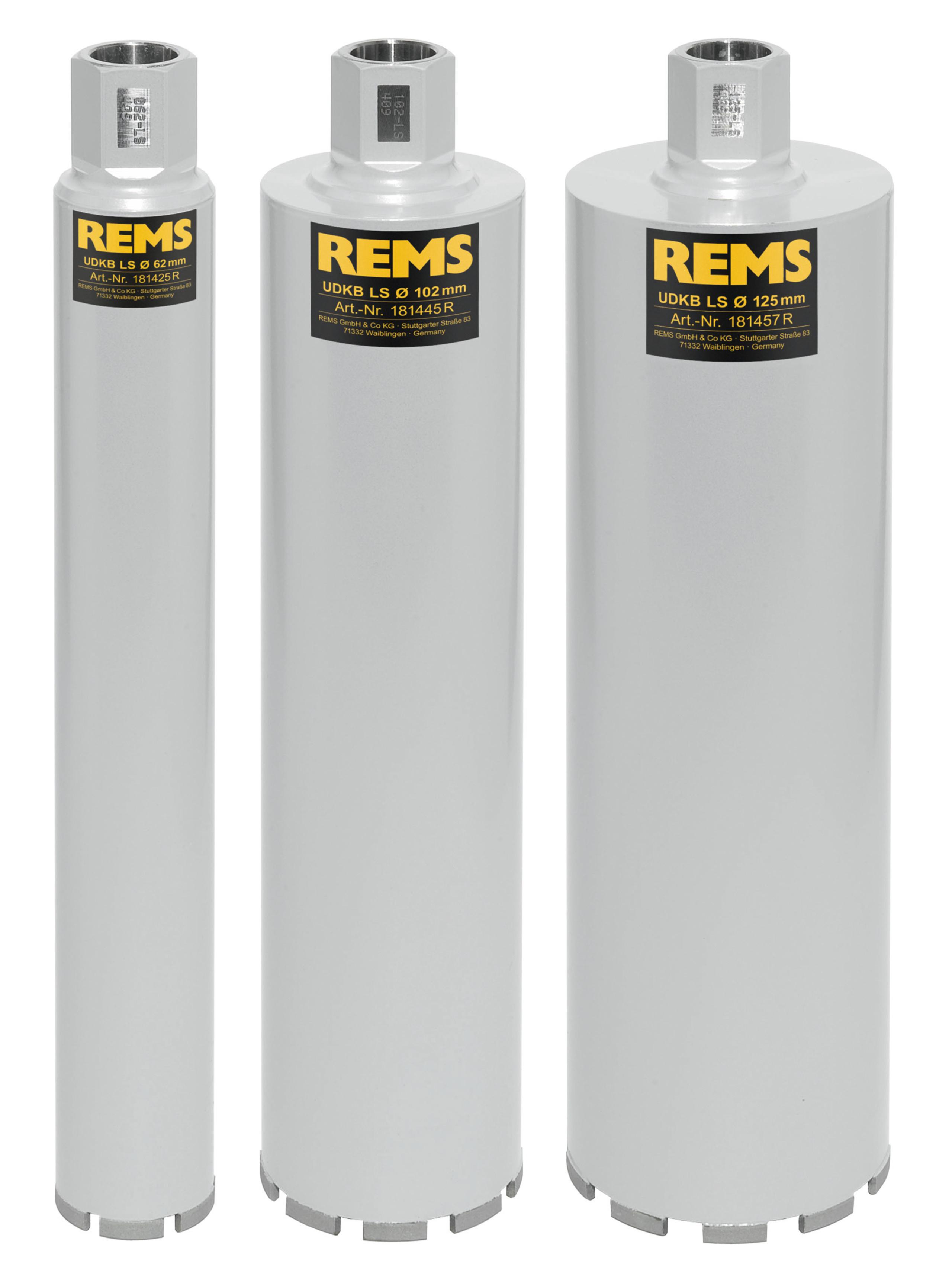 <br/>REMS UDKB-LS Set 62-102-125