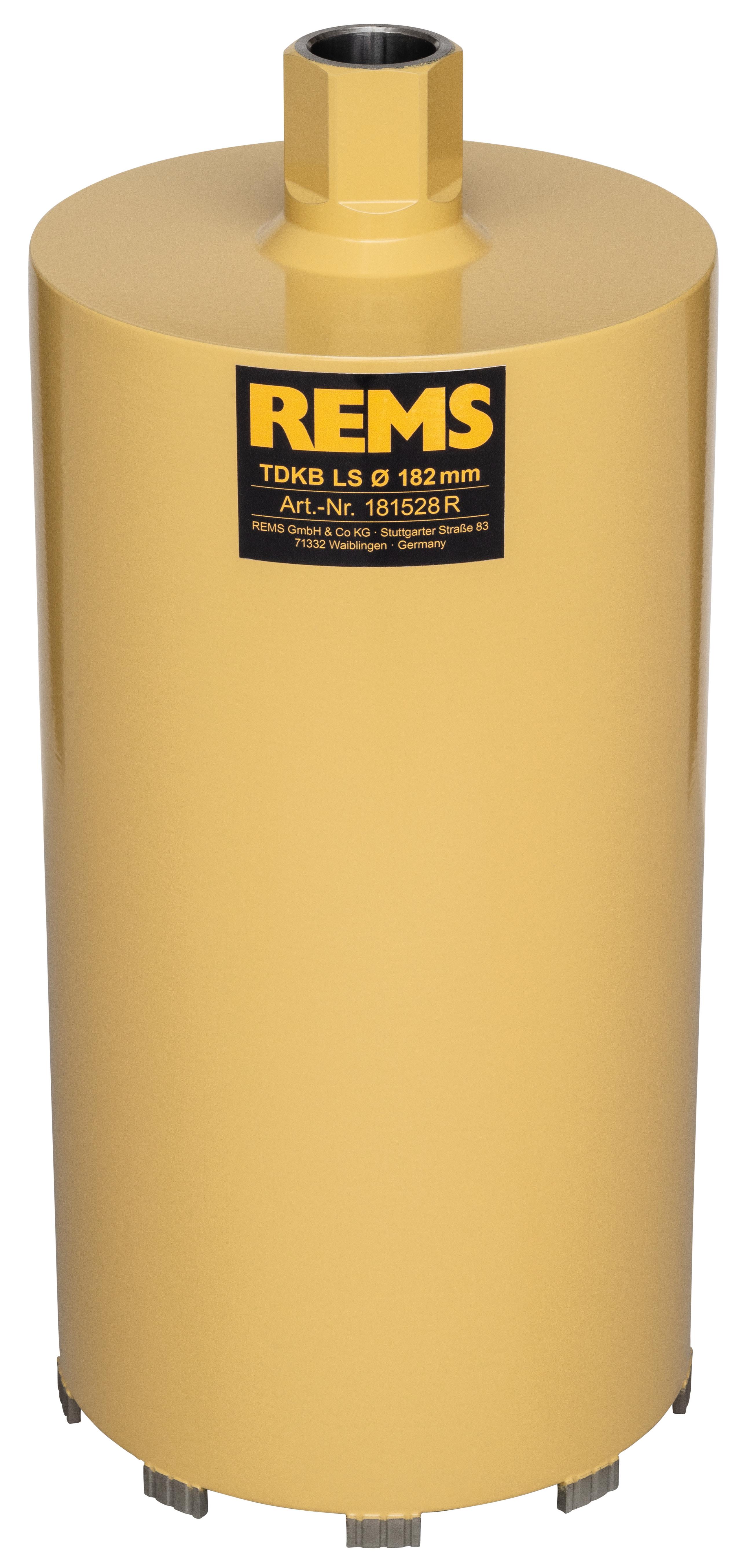 <br/>REMS TDKB LS 182x320xUNC 1 1/4