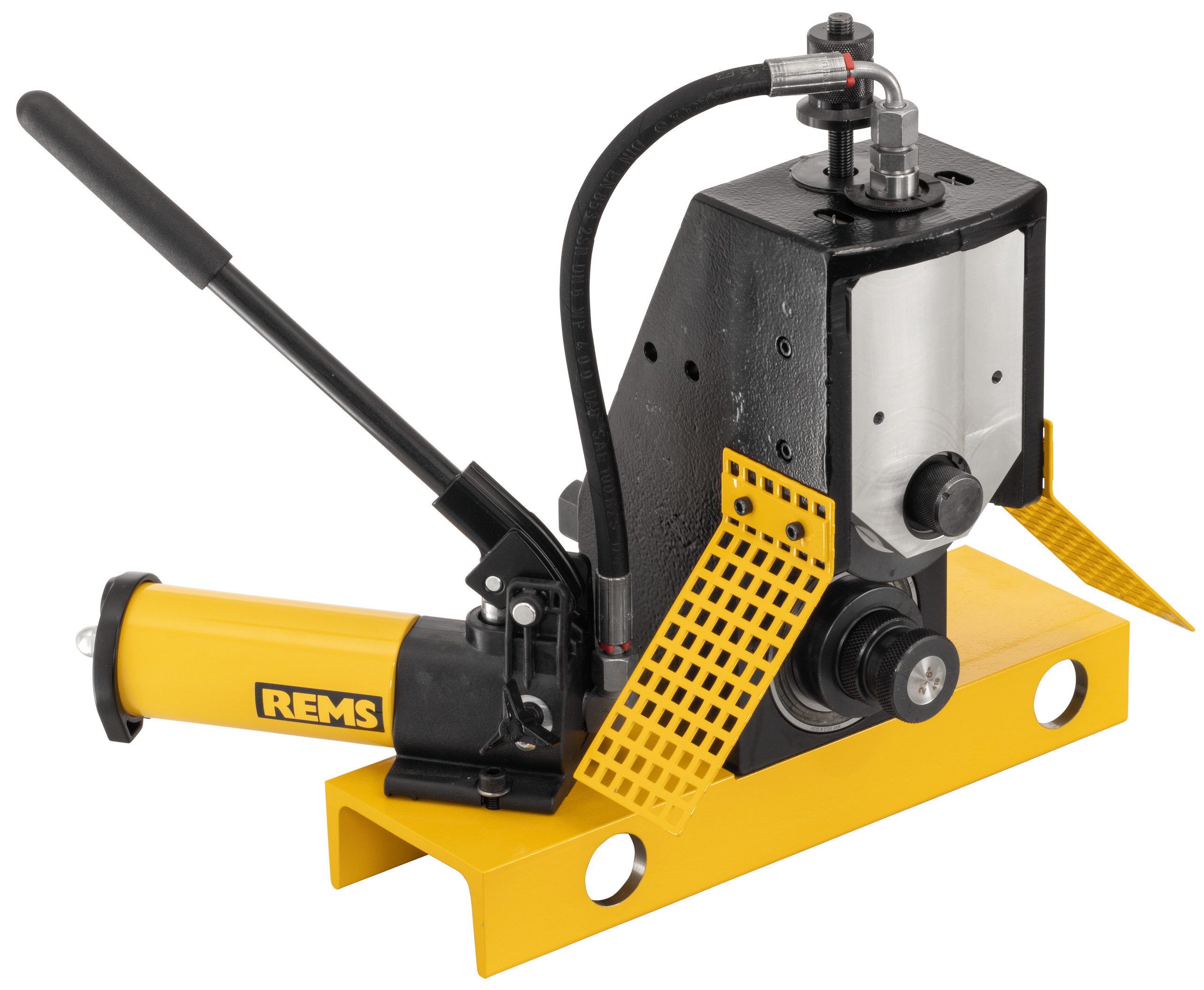 <br/>Roll grooving attachment
