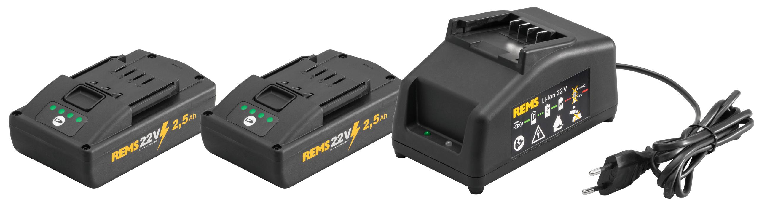 <br/>REMS Power-Pack 22V, 2,5Ah