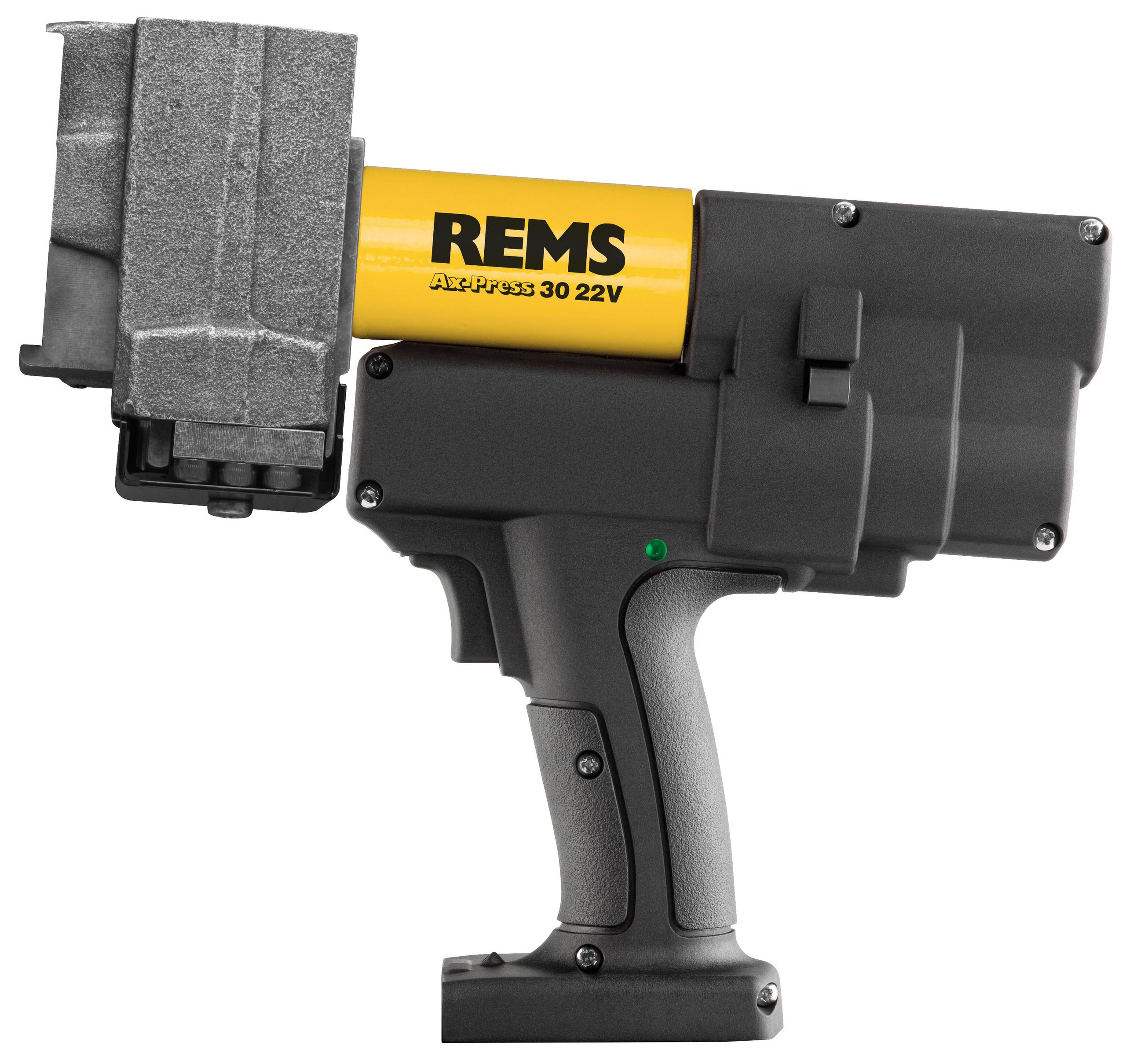 <br/>REMS Ax-Press 30  22V