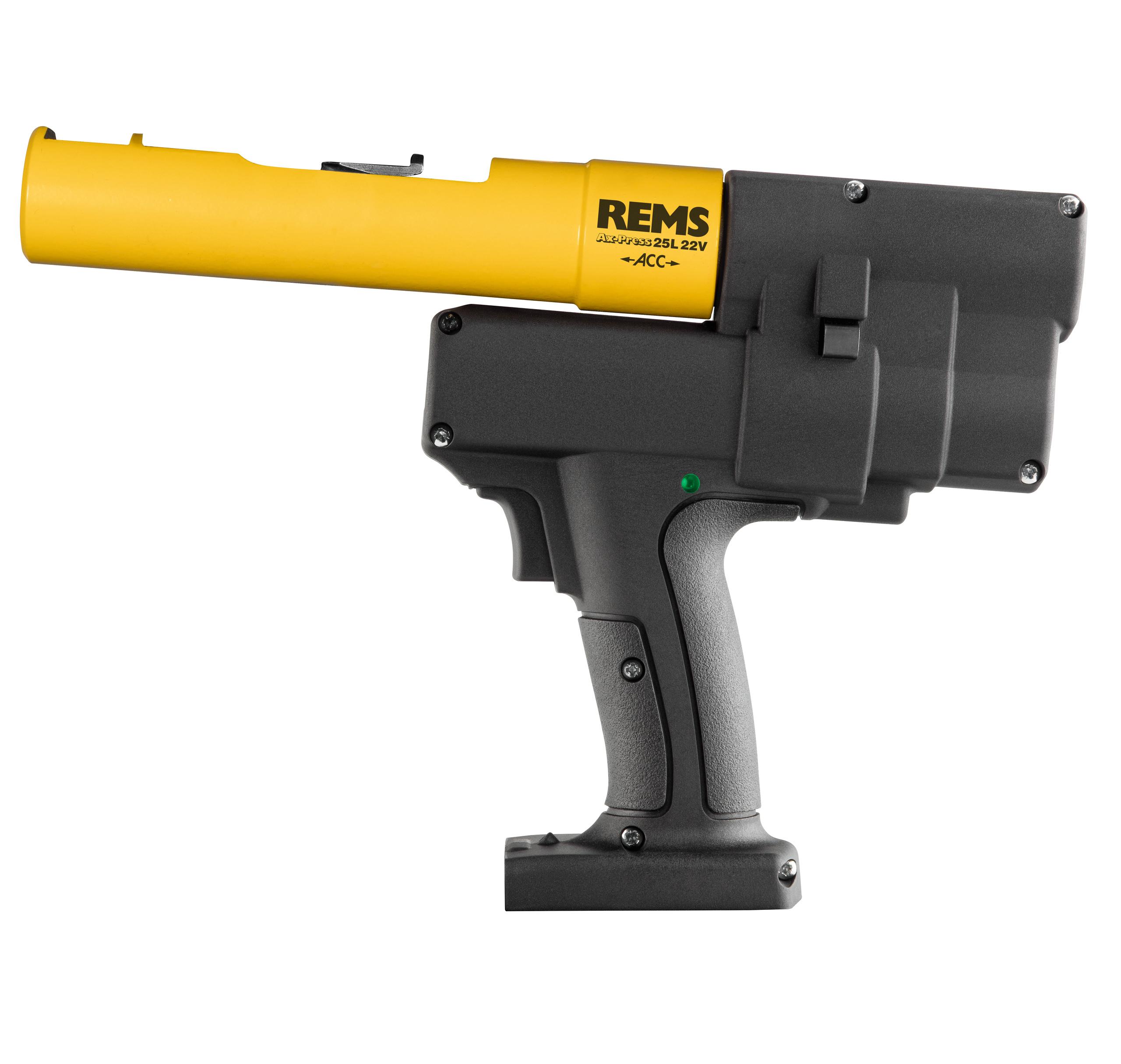 <br/>REMS Ax-Press 25 L 22V ACC