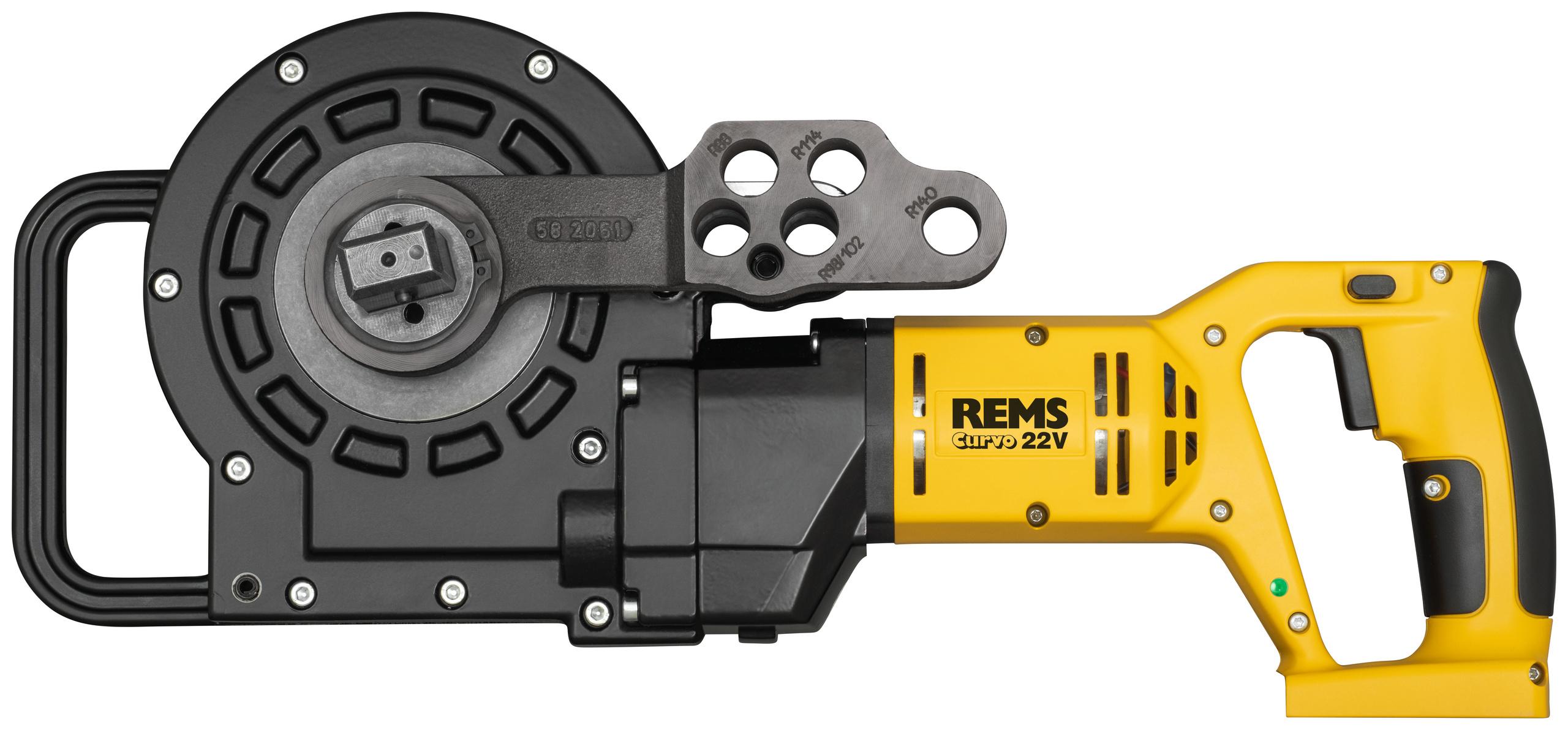 <br/>REMS Akku-Curvo 22V drive unit