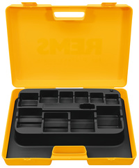 <br/>Plastic carrying case w/insert