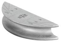 <br/>Biegesegment Ø22, R 86 (Alu)