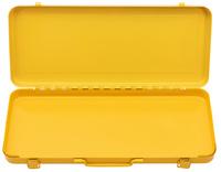 <br/>Plech.kufr žlutý, tisk REMS fP