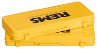 Plech.kufr žlutý, tisk REMS fP