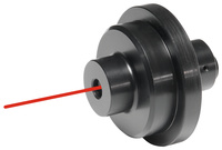 <br/>Laser drilling centre pointer