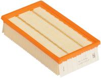 <br/>Plochý skládaný filtr papírový