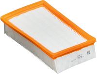 <br/>Plochý skládaný filtr PES