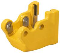 <br/>Roller holder w. pressure disk
