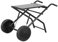 Collapsible wheel stand